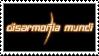 Disarmonia Mundi stamp by Horsesnhurricanes