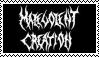 Malevolent Creation stamp by Horsesnhurricanes