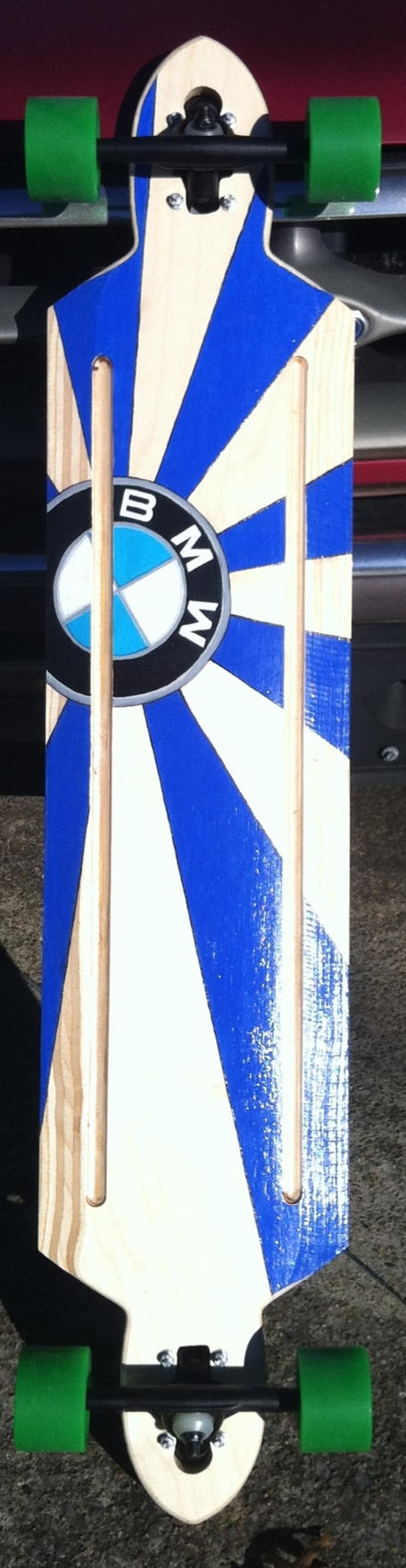 BMW longboard by whereisthefall