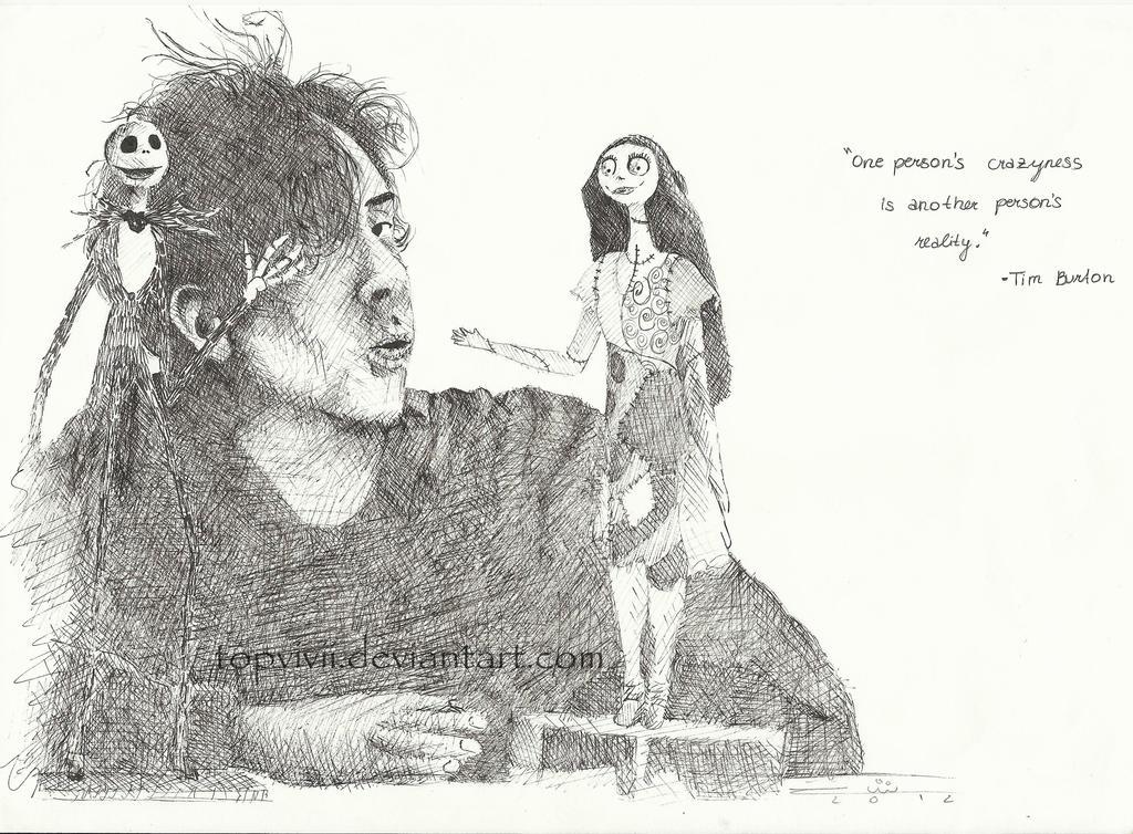 Sally Jack n Tim by ViviDybowski