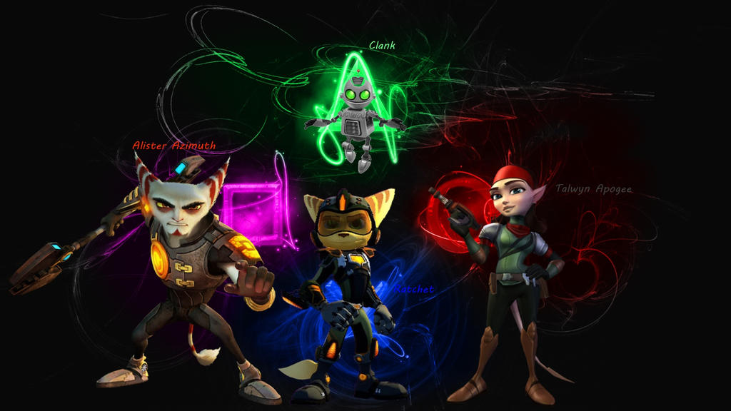 Ratchet And Clank Background By Ravenswood2014 On DeviantArt