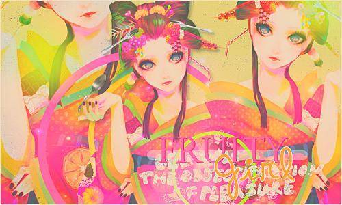 Fruity girl. O u t~ by GumiisaurusRex
