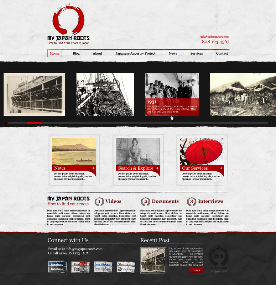 my japan roots by bojok mlsjr d30jsgb Web Design Inspiration: Inspiring and Creative Web Interface Designs