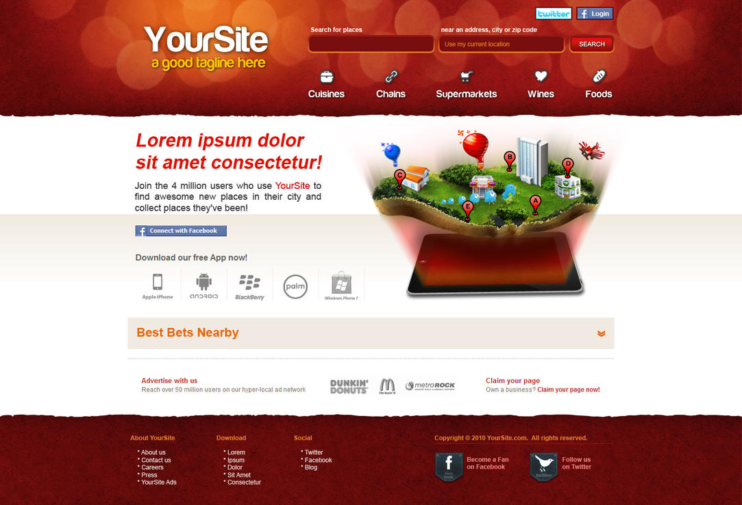 search site design by bojok mlsjr d34s88x Creatively Inspired Web Interface Designs