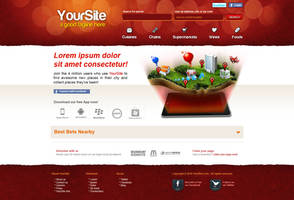 Search Site Design by bojok-mlsjr