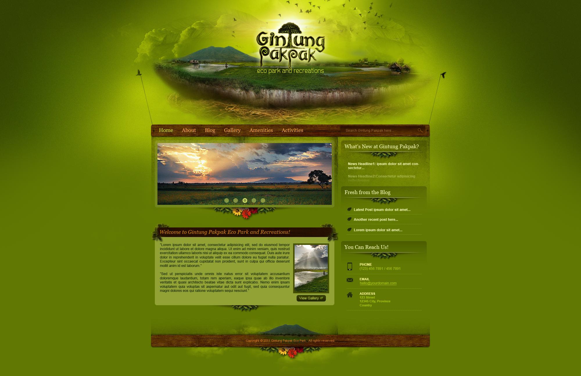 Gintung Pakpak Eco Park by bojok-mlsjr