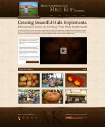 Mike Kop Site Design by bojok-mlsjr