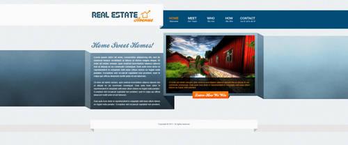Real Estate Site Design by bojok-mlsjr