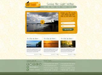 Grief Changed Me Web Design by bojok-mlsjr