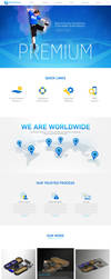 Web Page Design for Trampoline Parks Company by bojok-mlsjr