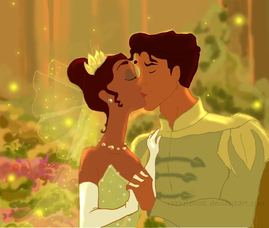 Naveen and Tiana by RachelEwok on DeviantArt