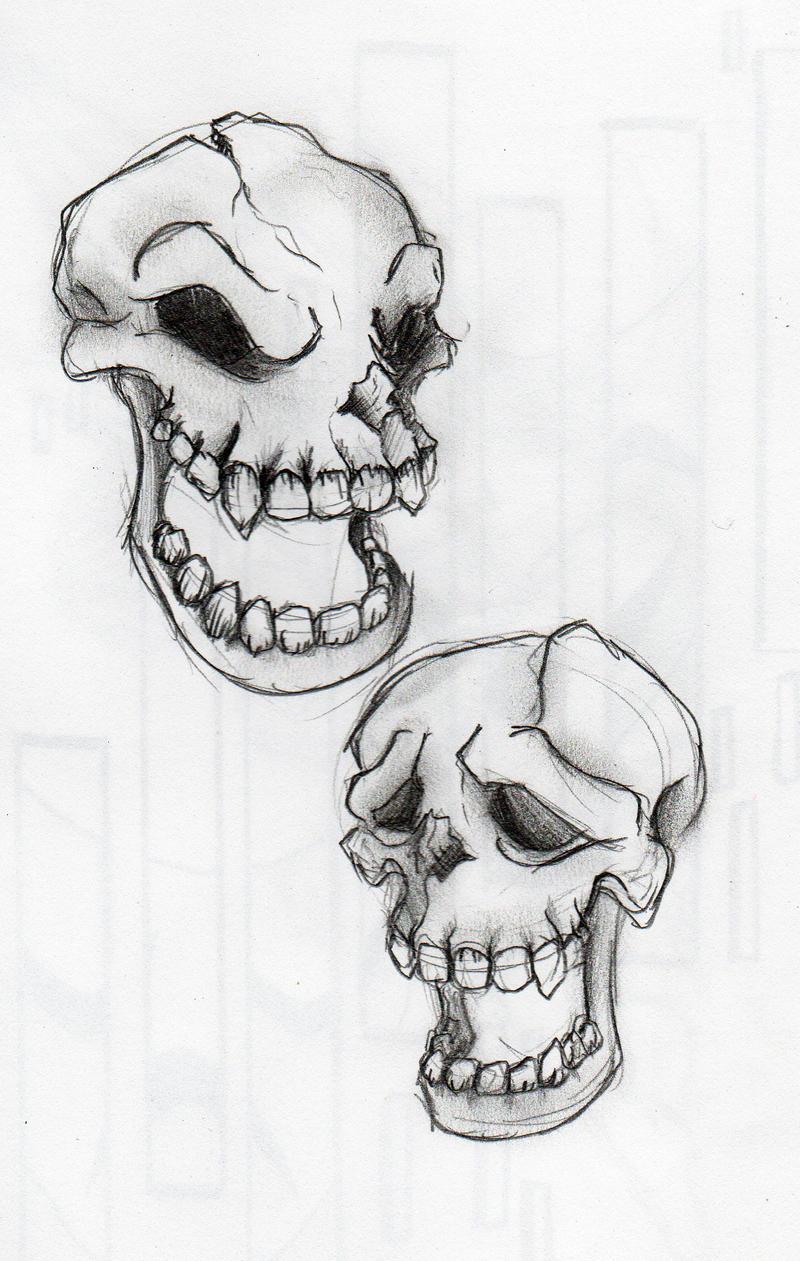 Skull Drama Face Tattoo: Skull Drama By BananaGoddess On DeviantArt