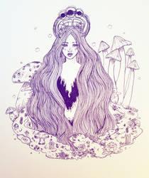 Queen of fungus