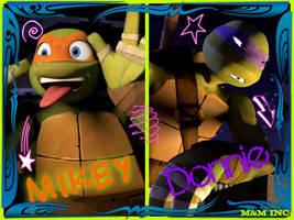 Turtles Bros by MichelleAuroraDaisy