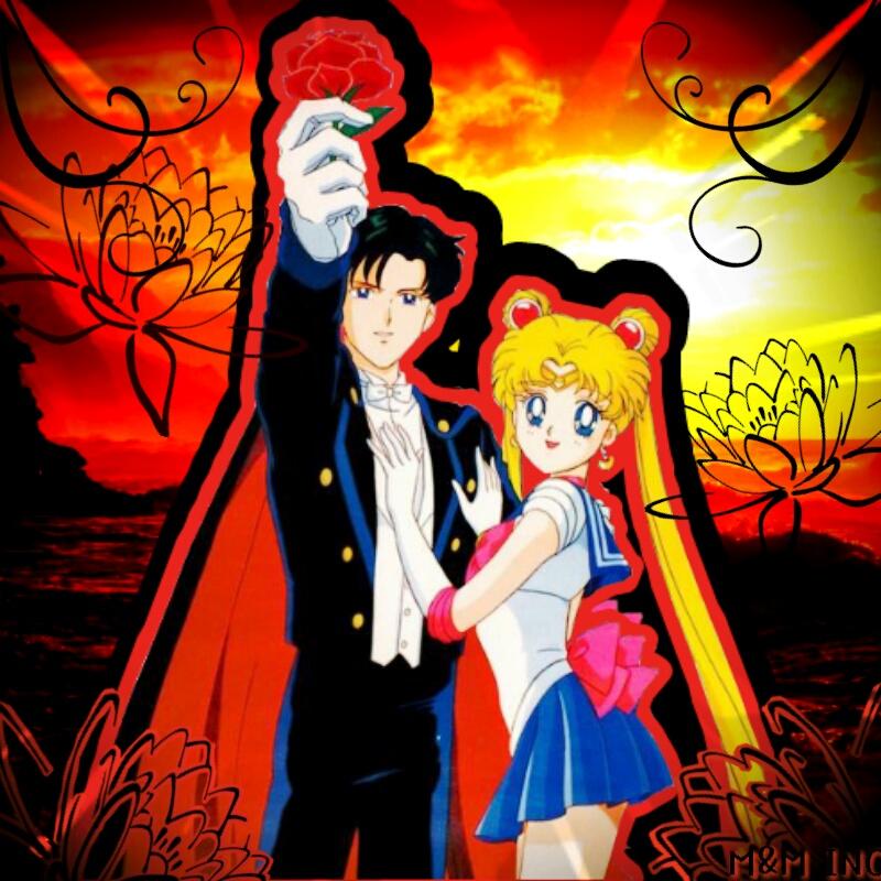 Sailor Moon X Tuxedo Mask: Tuxedo Mask And Sailor Moon By MichelleAuroraDaisy On