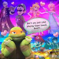 Mikey Smash Bros by MichelleAuroraDaisy