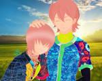 Haruichi and Ryosuke Kominato by MichelleAuroraDaisy