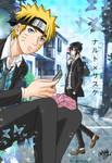 Naruto Sasuke School Days