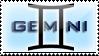 Gemini Stamp