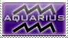 Aquarius Stamp by RSR-Productions
