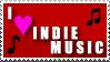 Indie Music Stamp