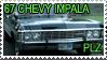 67 Chevy Impala Plz