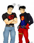 Superboy YJ Then and Now