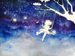 Among the stars by Chartzan