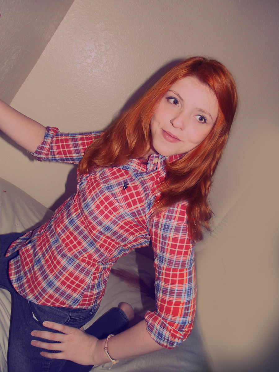Amy Pond ll Plaid Shirt ll by xredhairwonderx