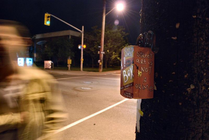 Street art is not a crime by BenoitAubry