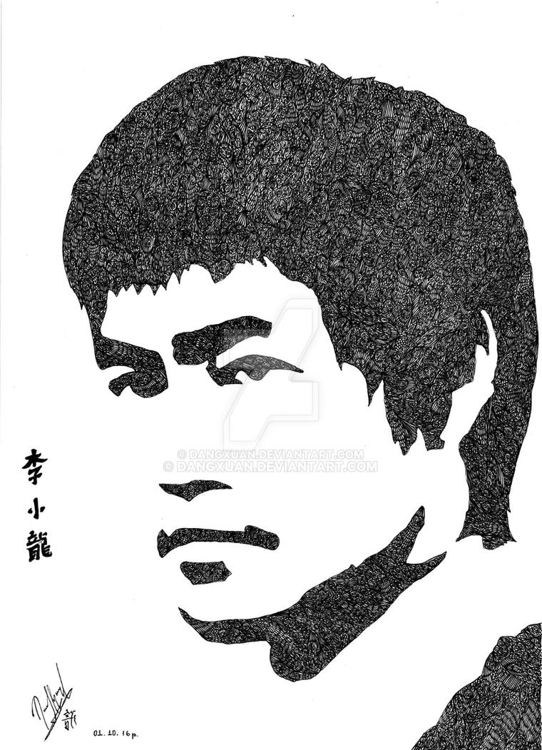Bruce Lee by Dangxuan