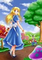Alice in wonderland by ilolamai