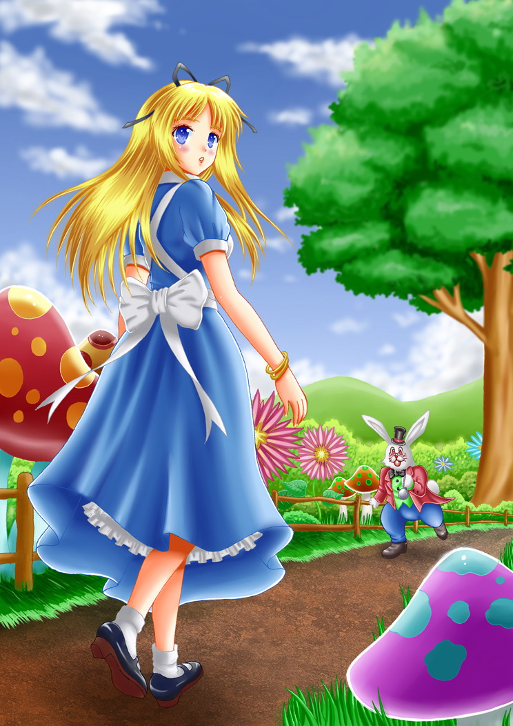 Alice in wonderland by ilolamai