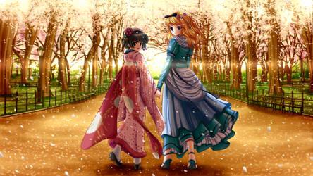 Yune and Alice by ilolamai
