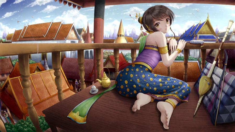 Princess balcony by ilolamai