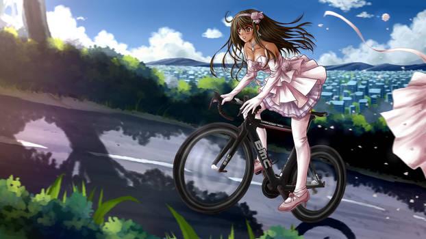 Ride away bride