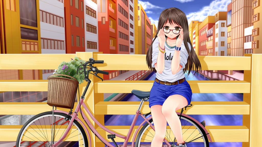 Glasses girl by ilolamai