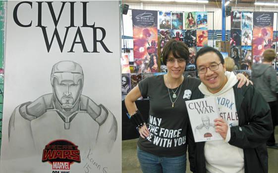 Tony Stark Commission for Calvin Wong