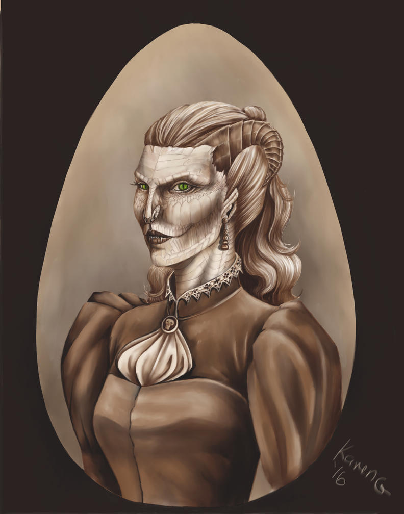 Mother of Monsters by GreenGosselin
