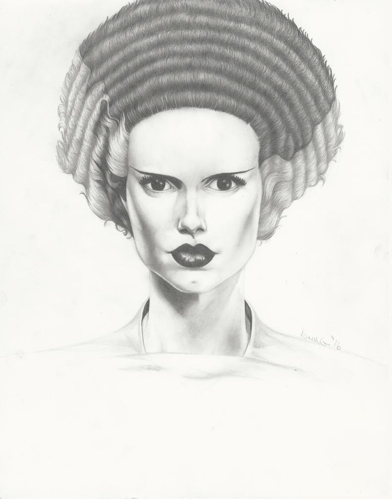 Bride Of Frankenstein Practice by GreenGosselin