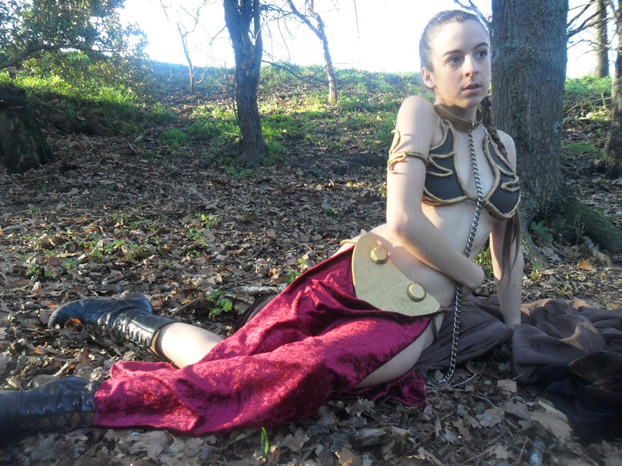 Slave Leia, Lost By RosieRoulette On DeviantArt