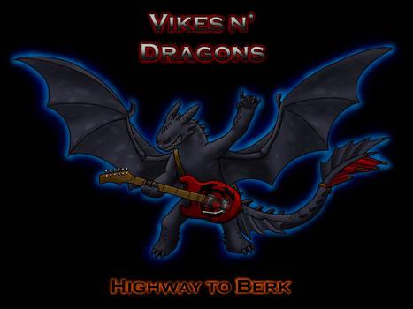 HTTYD: Vikes n' Dragons