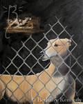 Memories of a Greyhound by FuzzyCreaturePainter