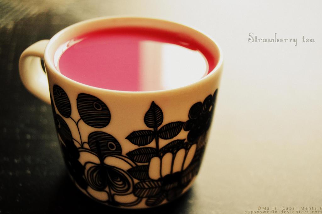 Turkish Strawberry Tea by norochan