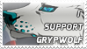 STAMP - I support Grypwolf by norochan