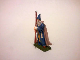 Gandalf figure by Derpy-Answers