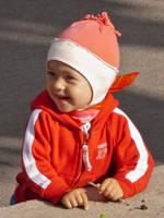 Kid in red by JoeGP