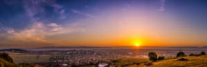 Sunrise over Saint George City 2