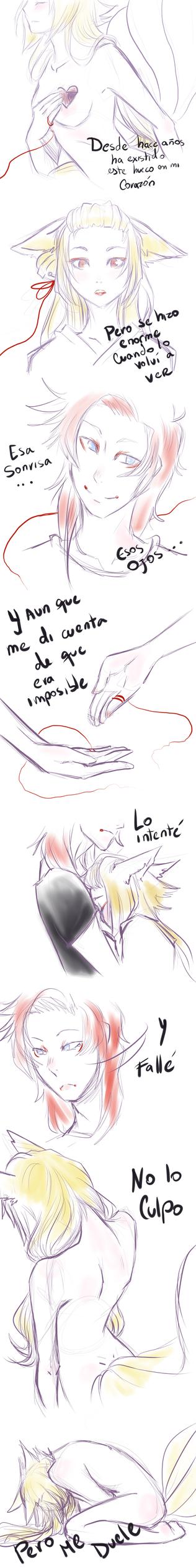 Because it Hurts -GijinkaROL by Lunatica-Ink