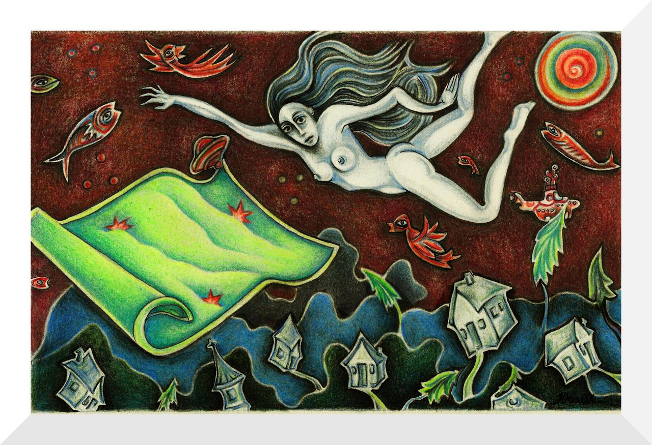 If She Had  a Magic Carpet... by HMissXX